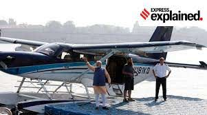 """India's First Seaplane Project will be inaugurated """"EMPOWER IAS"""""""