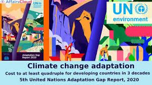 "Adaptation Gap Report, 2020 ""EMPOWER IAS"""